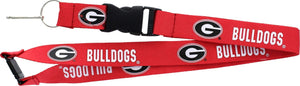 Georgia Bulldogs Football Lanyard