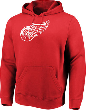 Majestic Detroit Red Wings Perfect Play Red Hoodie