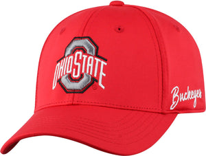 Ohio State Buckeyes One-Fit Red Phenom Hat