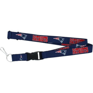 New England Patriots Football Lanyard