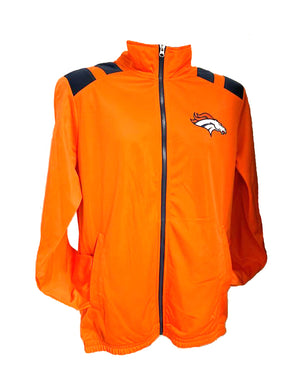 Denver Broncos Full-Zip Track Jacket - Orange