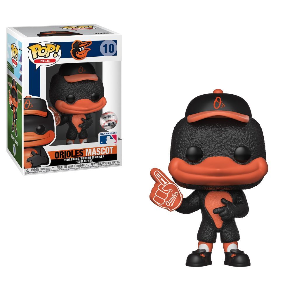 MLB Baltimore Orioles The Oriole Bird Pop! Vinyl Figure