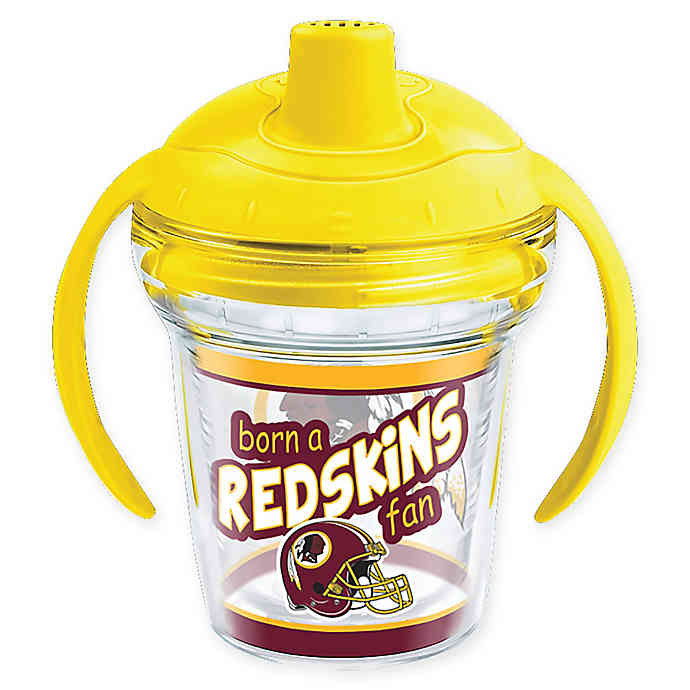 NFL Washington Redskins Born a Fan 6 oz. Sippy Cup