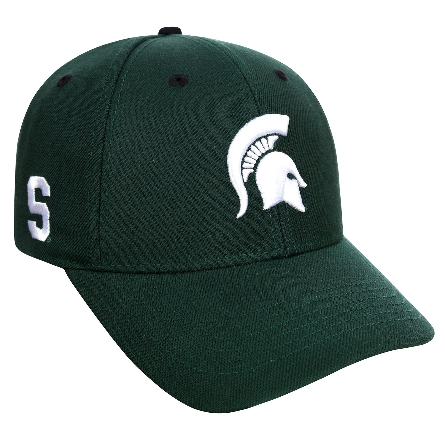 Michigan State Spartans Adjustable Strap Green Triple Threat Hat