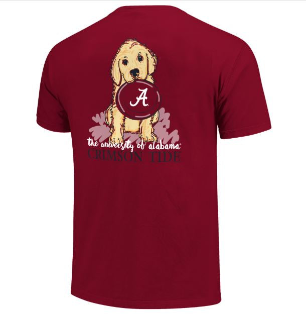 Alabama Crimson Tide Gameday Frisbee Basic Short Sleeve T-Shirt