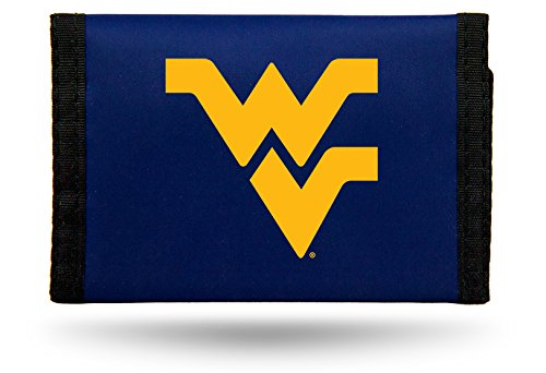 West Virginia Mountaineers NCAA Unisex-Adult NCAA Nylon Trifold Wallet
