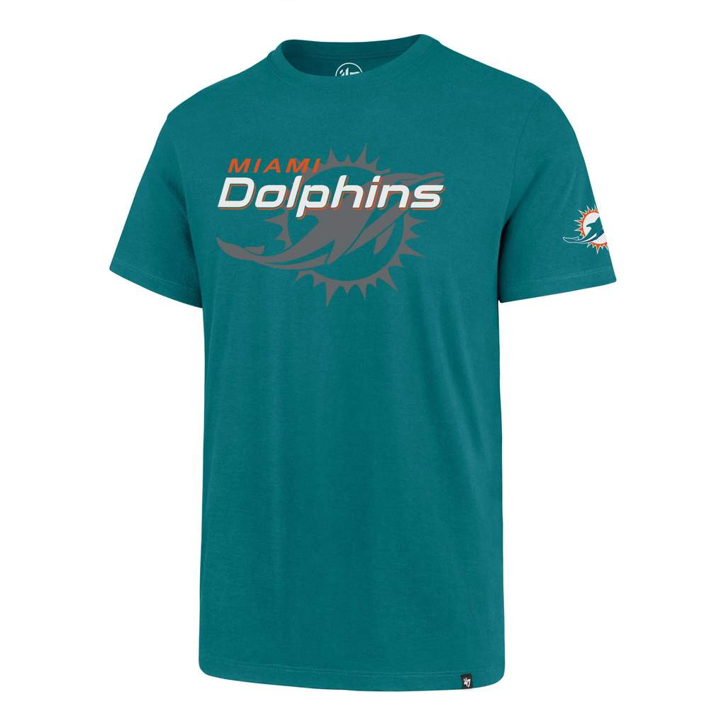Miami Dolphins Two Peat '47 Super Rival Tee