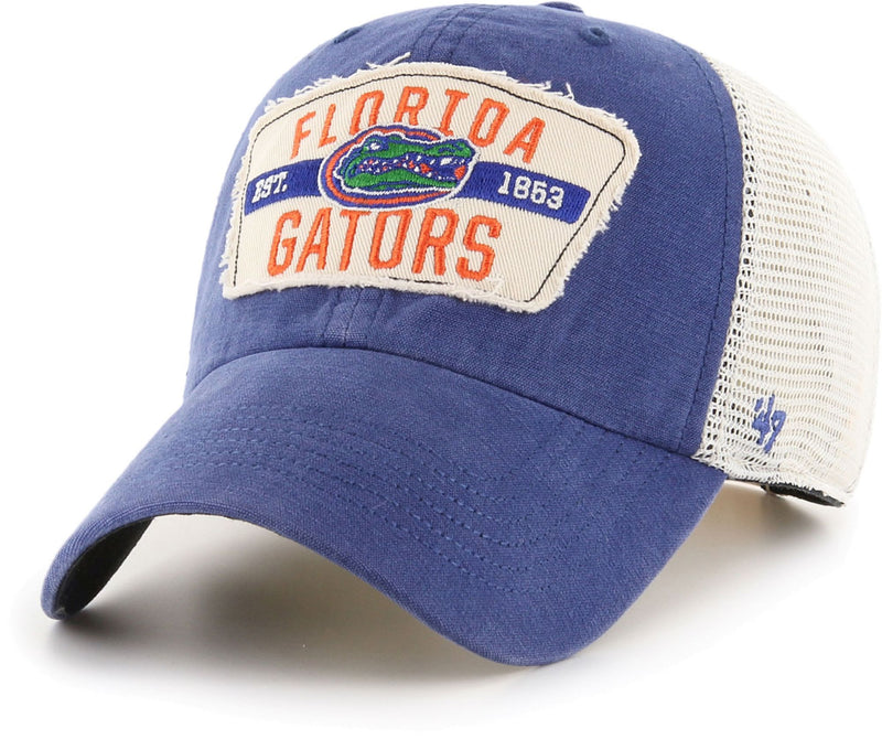 Florida Gators Blue Crawford Clean Up Adjustable Hat