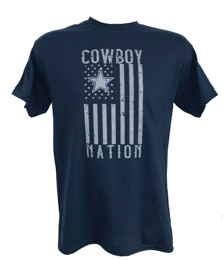 Dallas Cowboys Cowboys Flag Nation T-Shirt