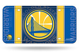 Rico Industries NBA Golden State Warriors Metal License Plate Tag