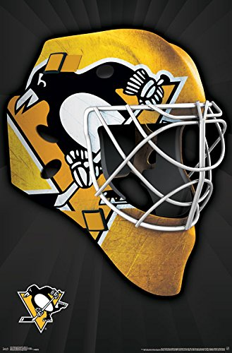 "Trends International Pittsburgh Penguins Mask Wall Poster 22.375"" x 34"""