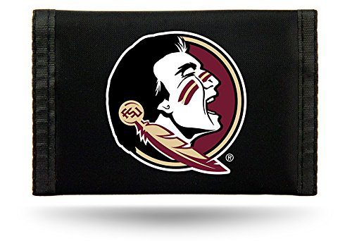 Rico Industries NCAA Florida State Seminoles Nylon Trifold Wallet