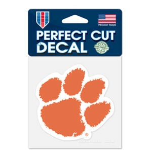 Clemson University Tigers - 4x4 Die Cut Decal