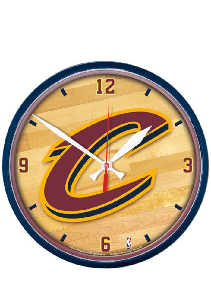 CLEARANCE: Cleveland Cavaliers Wall Clock