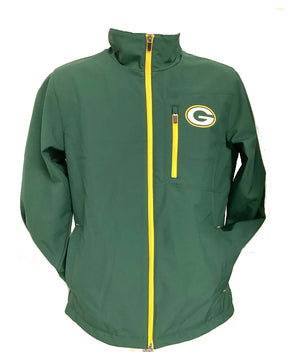 Green Bay Packers Green Full Zip  Jacket