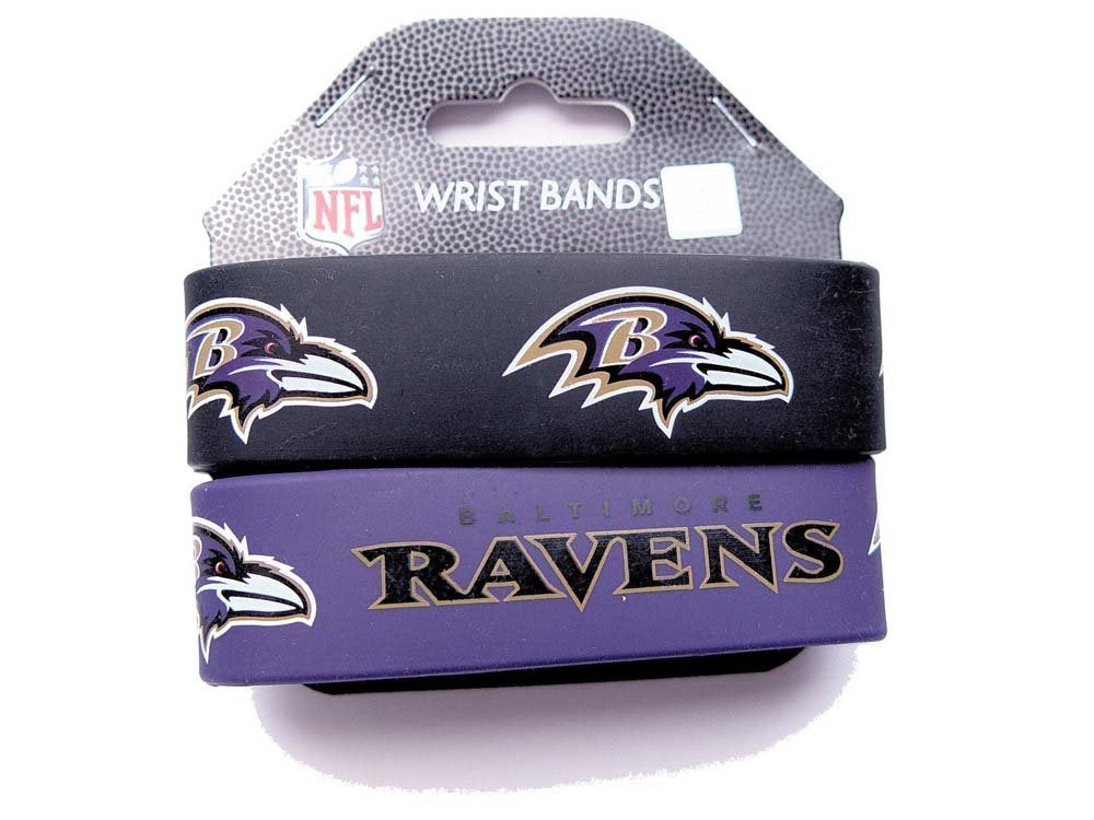 Baltimore Ravens 2 Pack Braclets