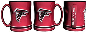 Boelter Brands NFL Sculpted Coffee Mugs