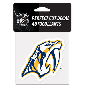 Nashville Predators NHL Perfect Cut Color Decal