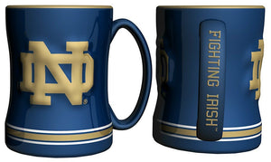 Notre Dame Fighting Irish Relief Mug