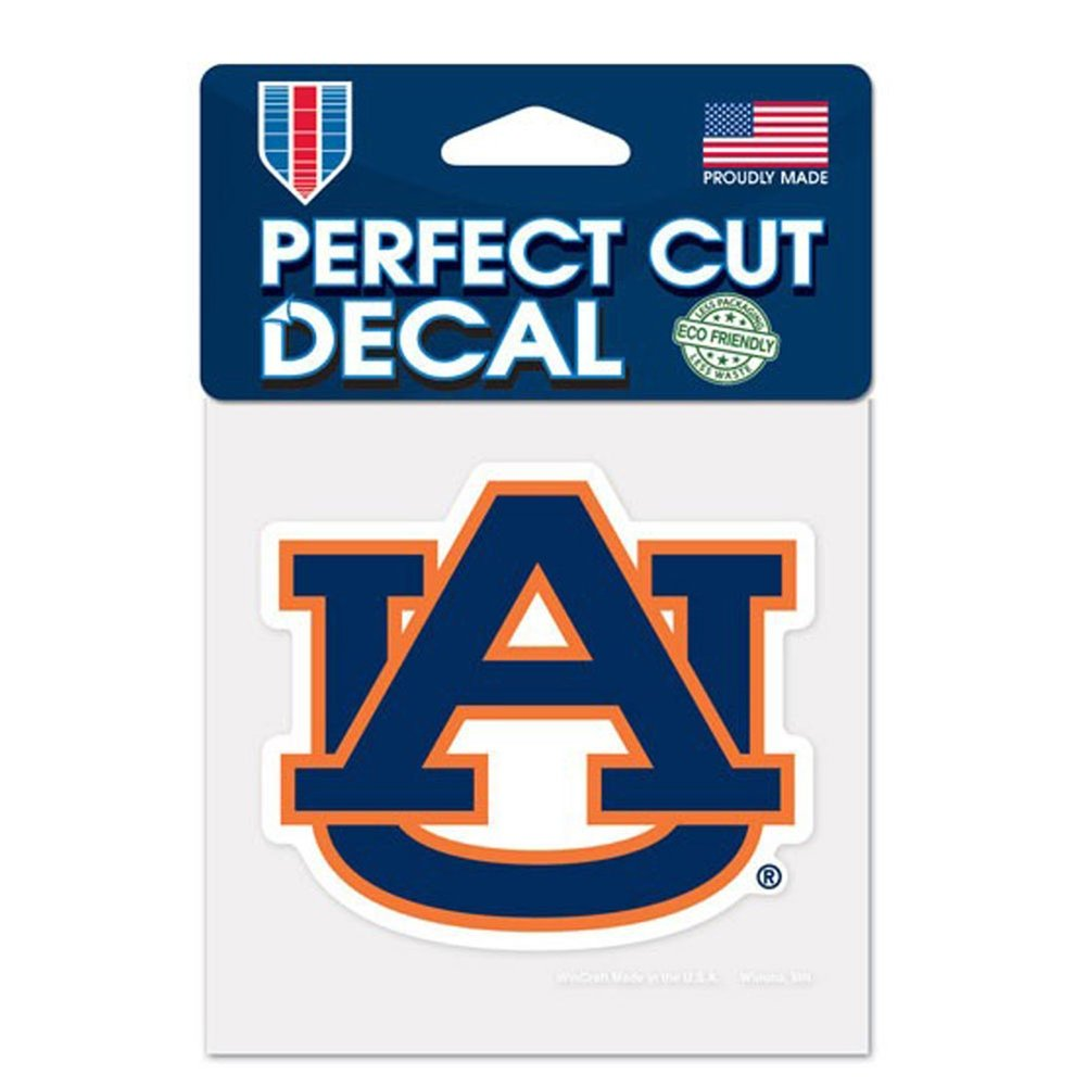 Auburn Tigers Decal  4x4 Die Cut Decal