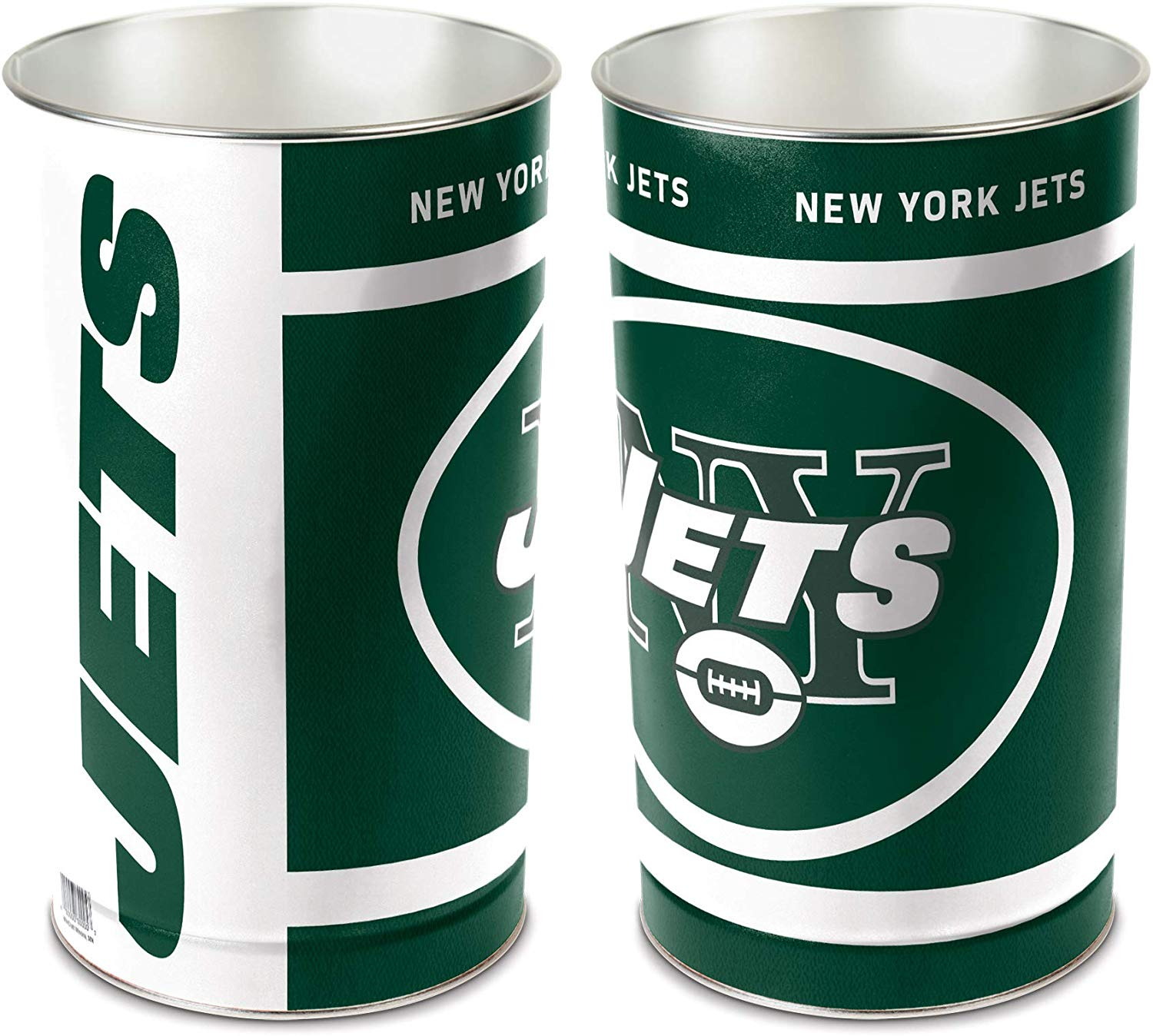 Clearance: New York Jets NFL Wastebasket Trash Can