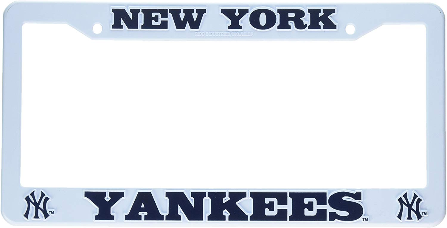 New York Yankees Plastic License Plate Frame
