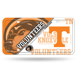NCAA Tennessee Volunteers Metal License Plate Tag