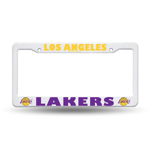 Los Angeles Lakers Plastic License Plate Frame