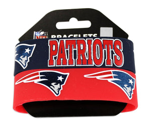 New England Patriots 2 Pack Braclets