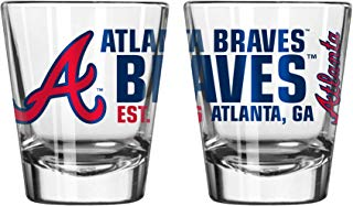 Atlanta Braves Spirit Shot Glass