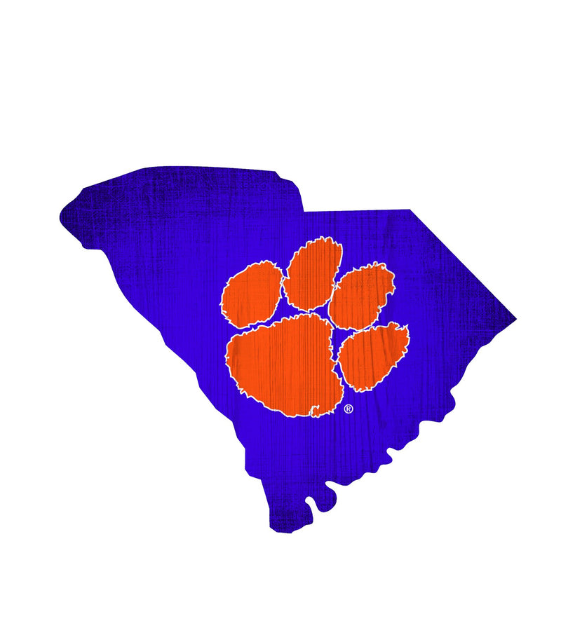 Auburn Tigers State Team Color Logo Sign