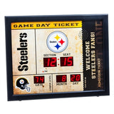 Pittsburgh Steelers Team Bluetooth Scoreboard Clock