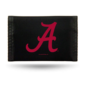 NCAA Alabama Crimson Tide Nylon Trifold Wallet
