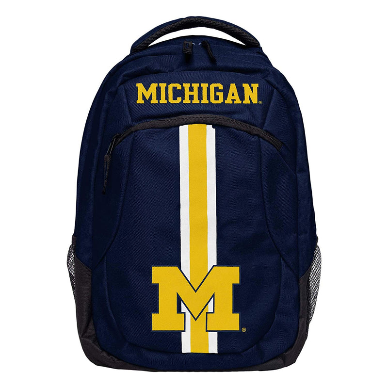 FOCO NCAA  Michigan Wolverines Unisex Action Backpack