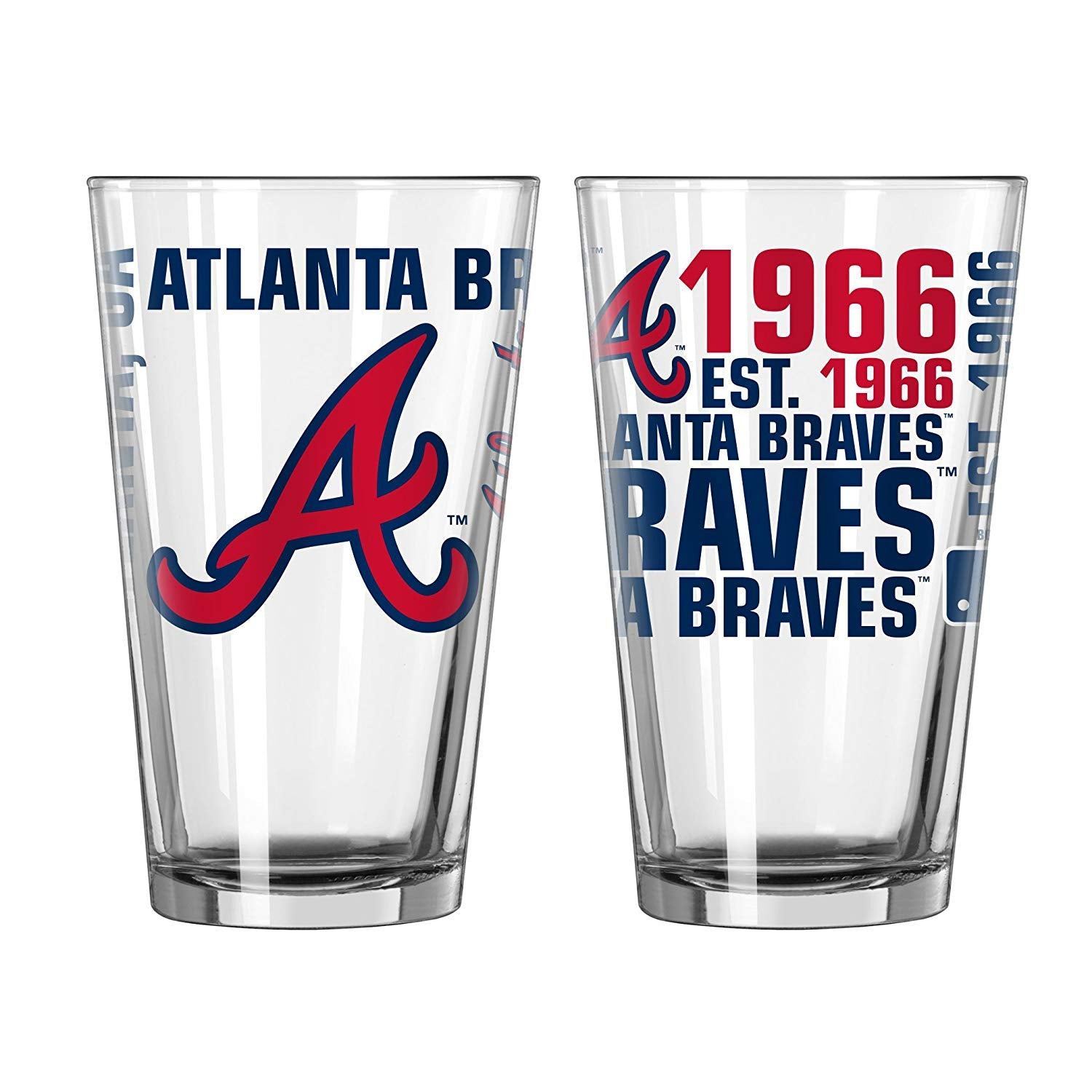 Atlanta Braves Spirit Pint Glass