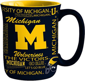 Michigan Wolverines Spirit Mug