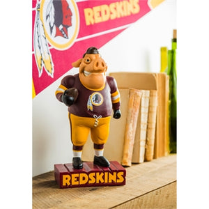 Washington Redskins NFL Mascot Statue Evergreen