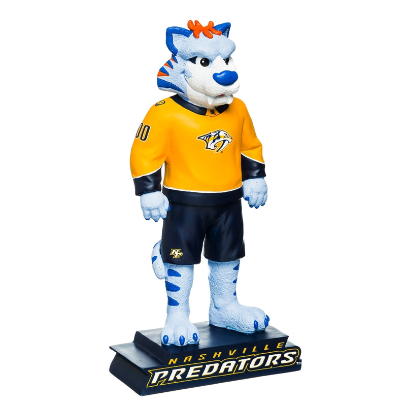 Evergreen Nashville Predators Mascot Statue