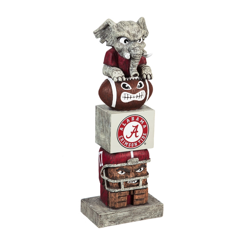Alabama Crimson Tide Totem Pole