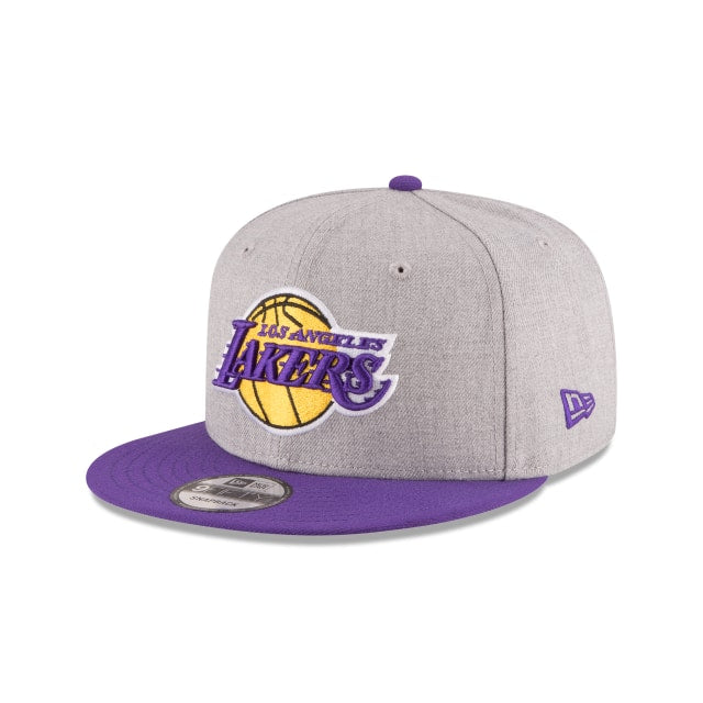 Los Angeles Lakers 2 Tone 9fifty Heather Hat