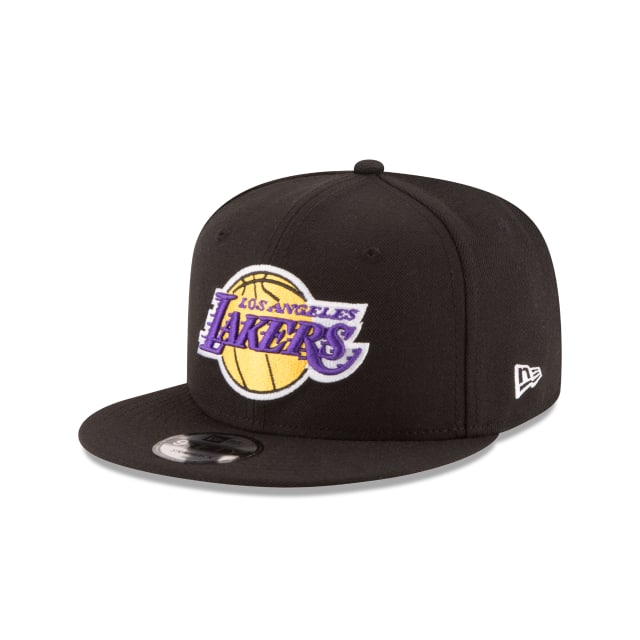 Los Angeles Lakers Black 9fifty Hat