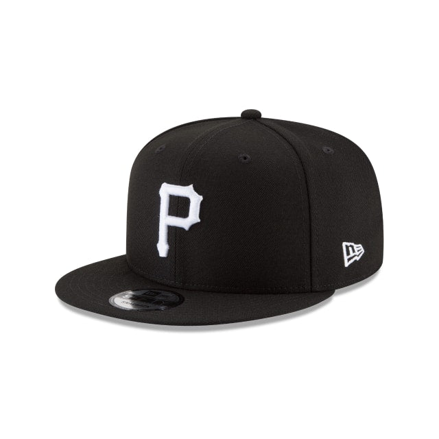 Pittsburgh Pirates 9fifty Black/White Snapback Hat