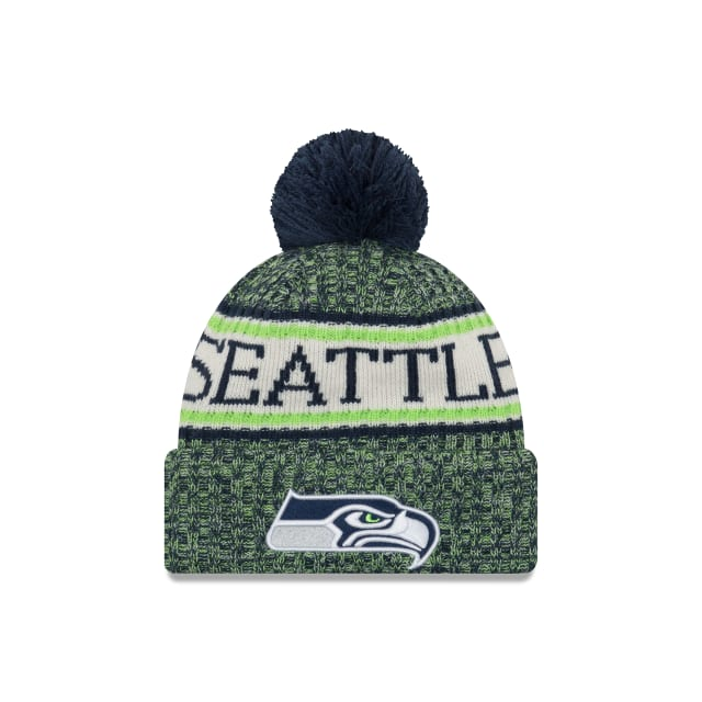 Seattle Seahawks Knit Hat Sideline Beanie Stocking Cap