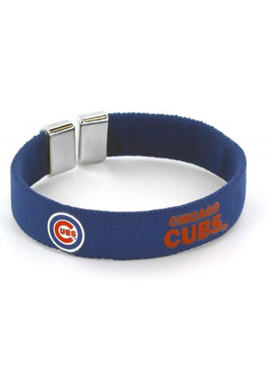 Chicago Cubs Ribbon Bracelet