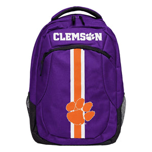 NCAA Clemson Tigers Unisex Action Backpack