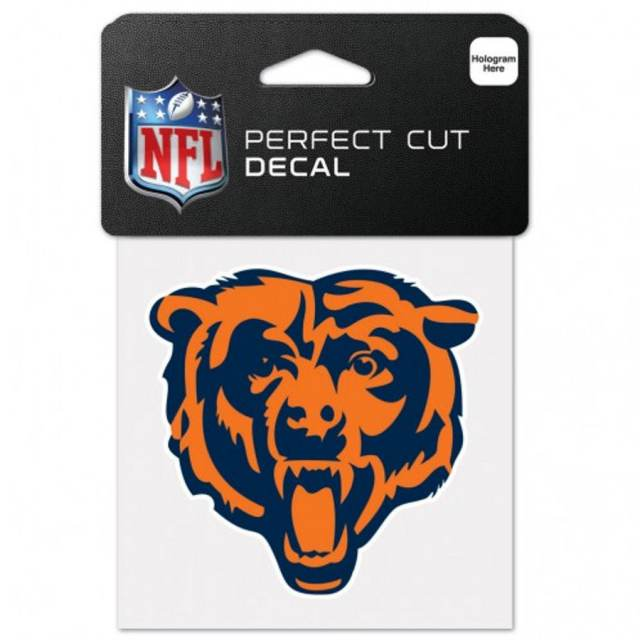 Chicago Bears Head - 4x4 Die Cut Decal