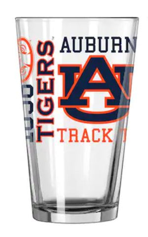Auburn Tigers Pint Glass