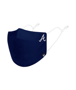 Atlanta Braves Navy Core 47 Face Mask