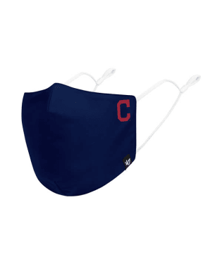 Cleveland Indians Navy Core 47 Face Mask
