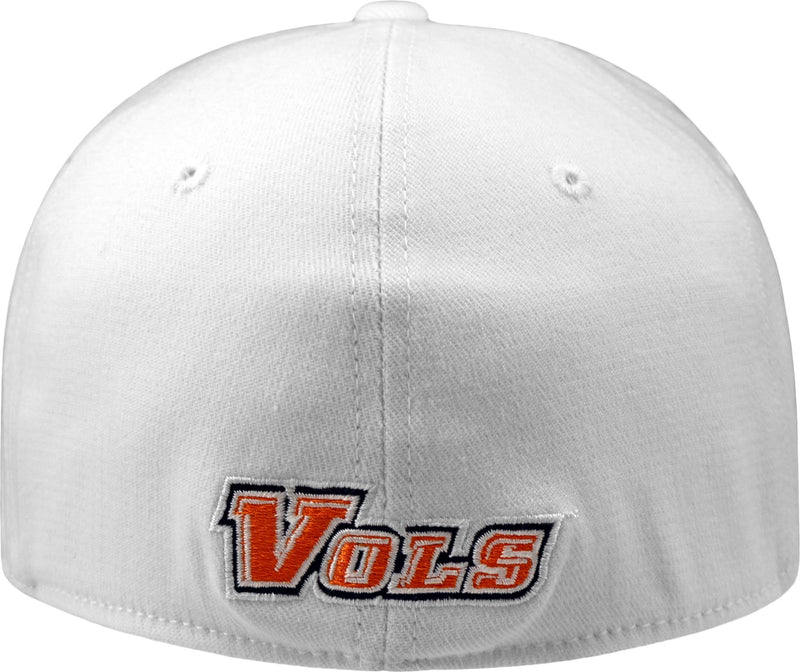 Tennessee Volunteers Premium Collection Memory Fit White Hat